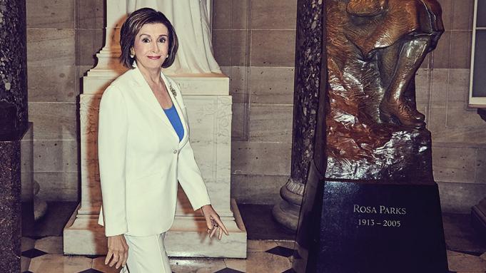 Nancy Pelosi Variety Cover Story