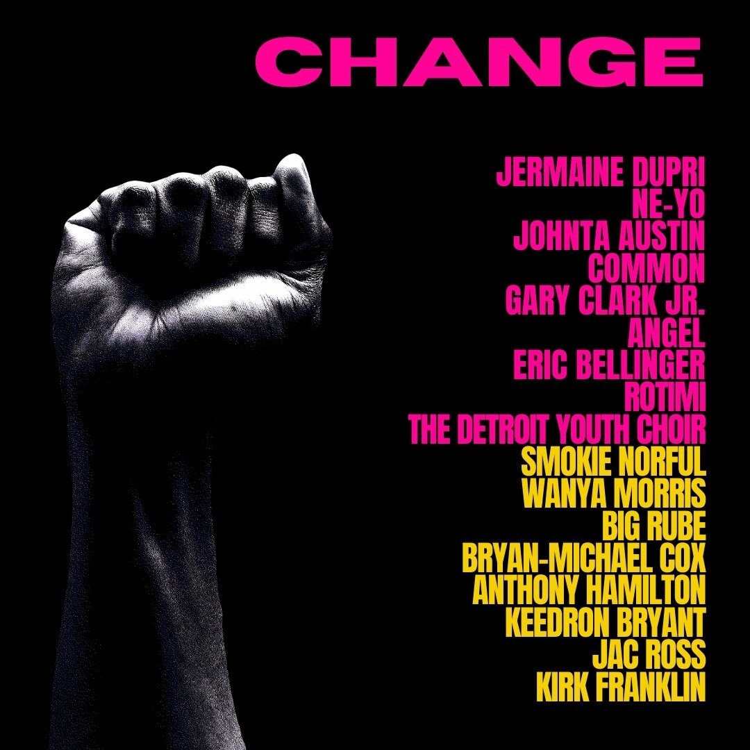 """CHANGE"" from Jermaine Dupri, Ne-Yo, Johntá Austin, and Friends"