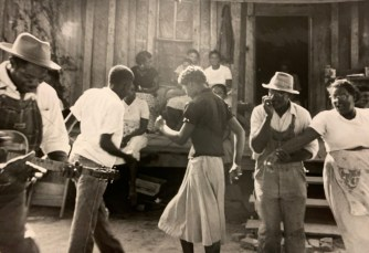A historical photo shows a rural dance in the Black Belt. (contributed)